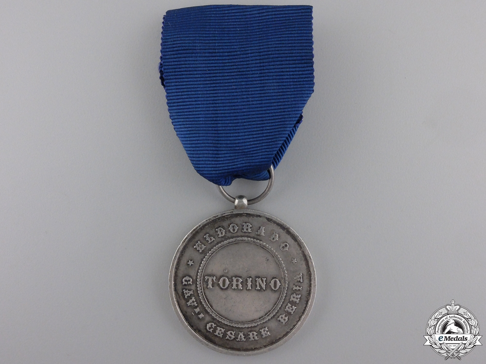eMedals-An Italian City of Torino Merit Medal