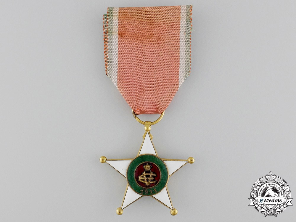 eMedals-Italy. A Colonial Merit Order; Knight's Breast Badge, c.1920