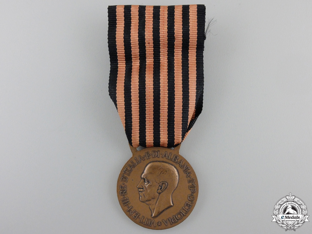 eMedals-An Italian Expedition to Albania Campaign Medal; Type 1