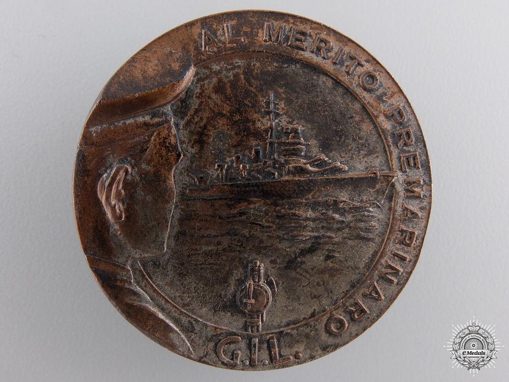 eMedals-An Italian Gioventu Italiano Del Littorio Seafaring Merit Badge