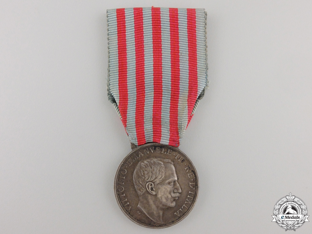 eMedals-An Italian Libyan Campaign Medal
