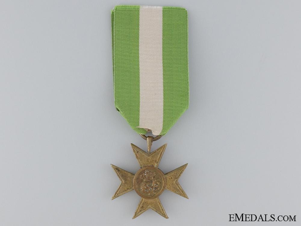 eMedals-An Italian Long Service Cross for Twenty-Five Years' Service