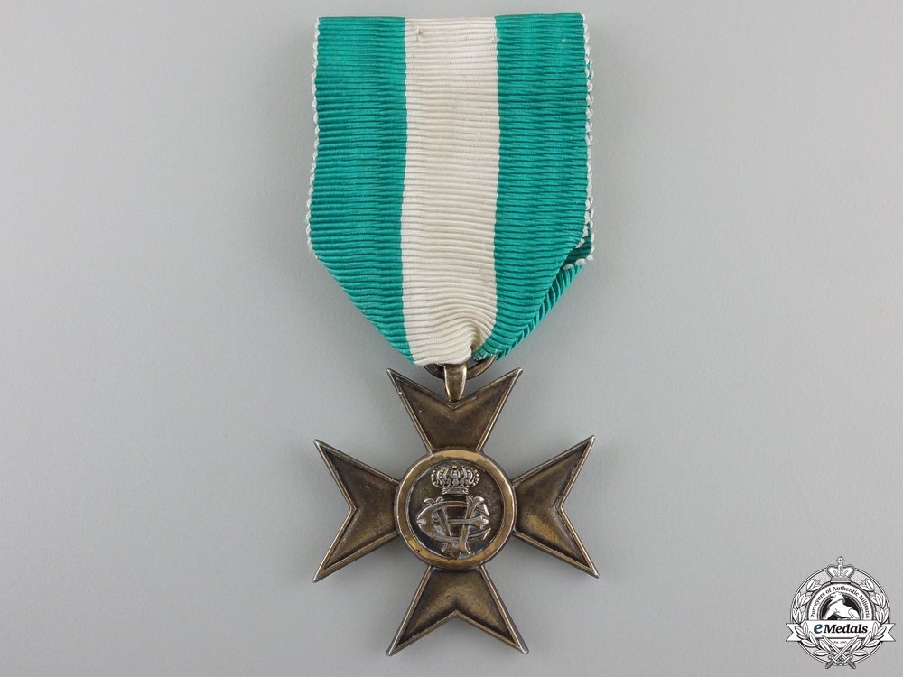 eMedals-An Italian Long Service Cross for Twenty Five Years' Service
