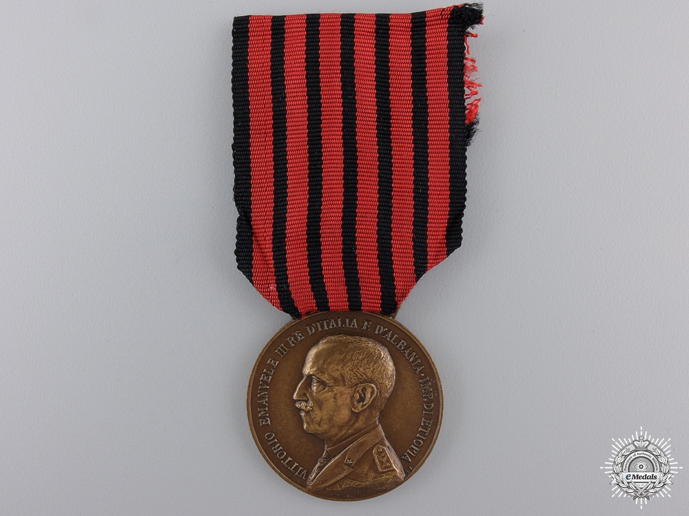 eMedals-An Italian Medal for Expedition to Albania