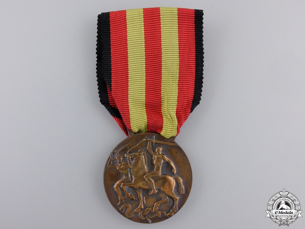eMedals-An Italian Medal of the Spanish Campaign 1936-1939