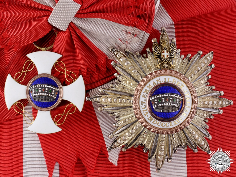 eMedals-An Italian Order of the Crown; Grand Cross