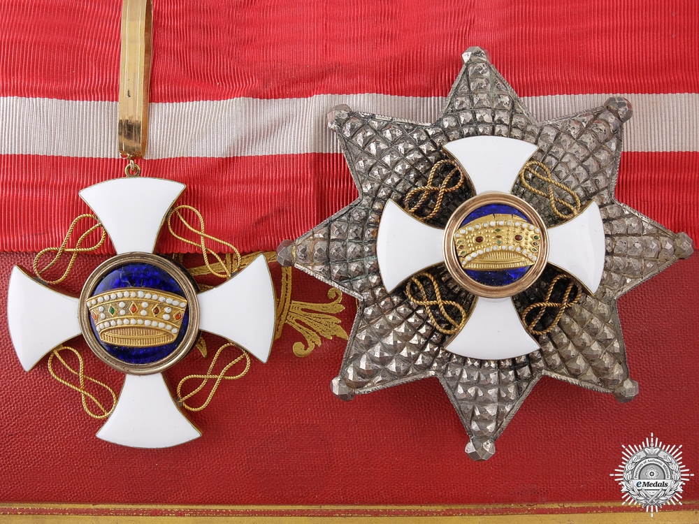 eMedals-An Italian Order of the Crown; Grand Officer by D.Cravanzola