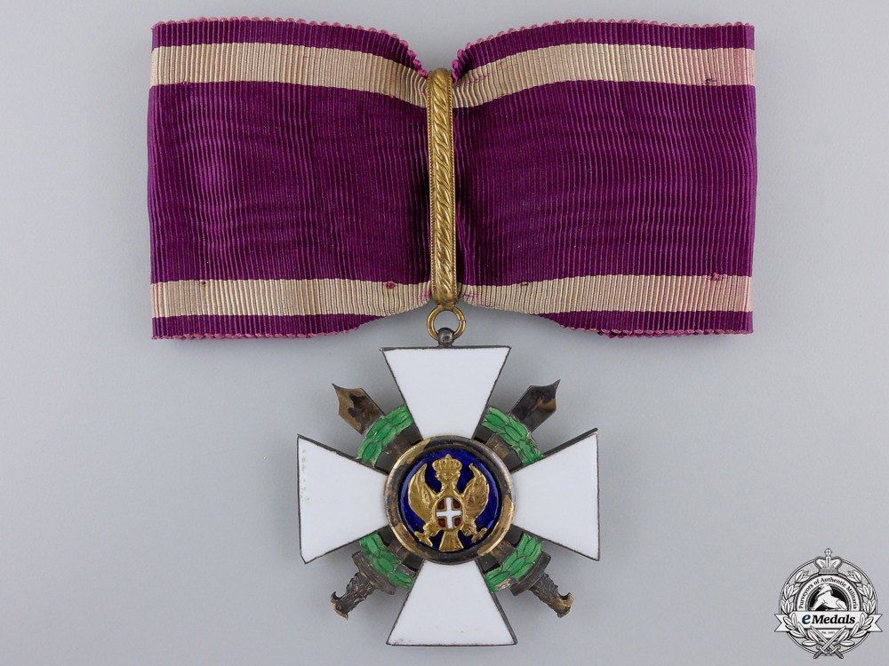 eMedals-Italy. An Order of the Roman Eagle 1942-43, Commander's Cross, c.1942