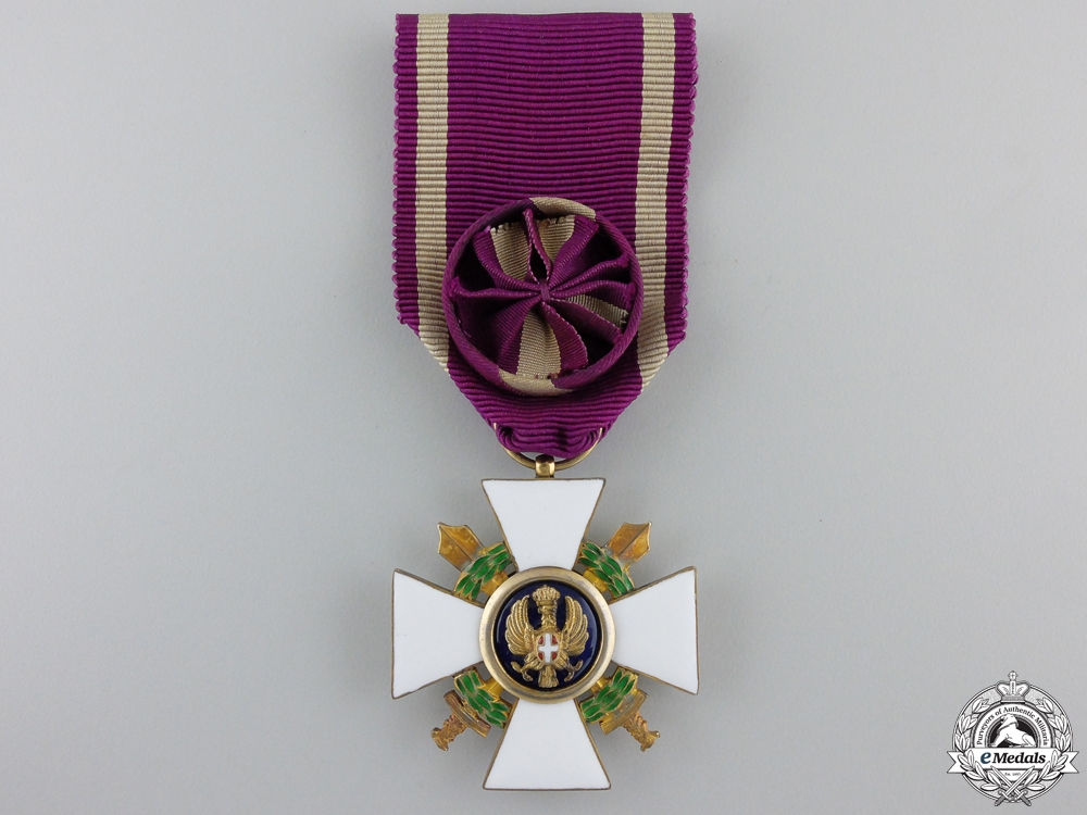 eMedals-An Italian Order of the Roman Eagle with Swords 1942-1943