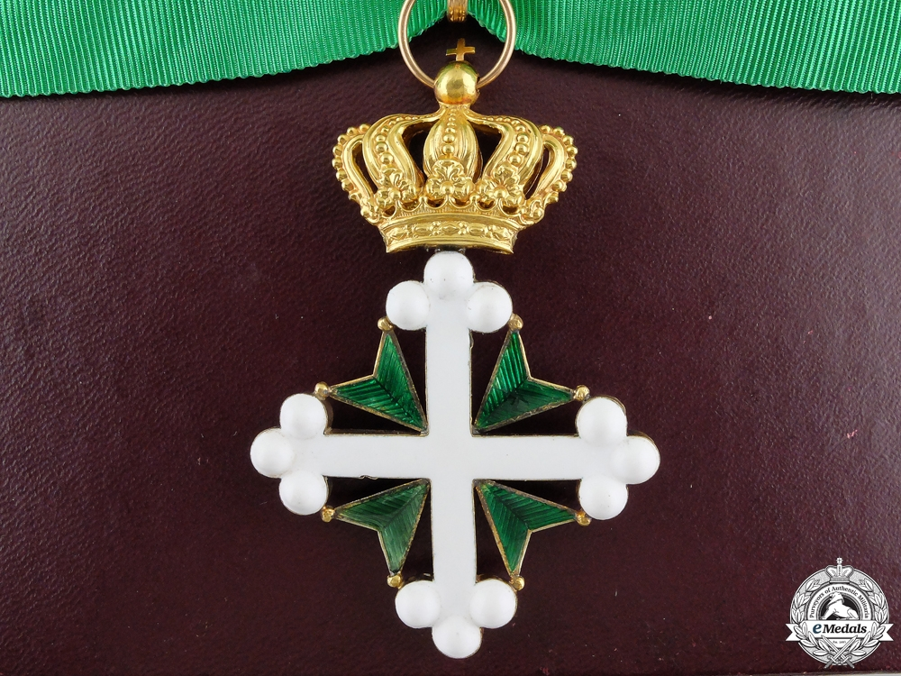 eMedals-An Italian Order of St. Maurice and St. Lazarus in Gold; 2nd Class