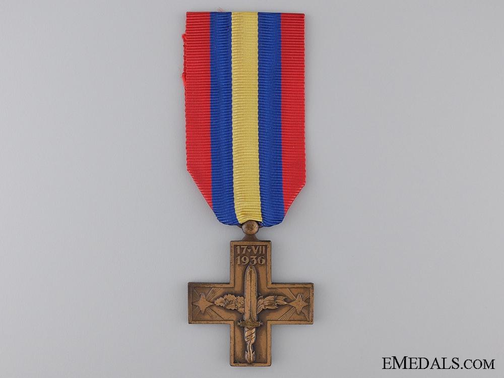 eMedals-An Italian Spanish War Cross 1936