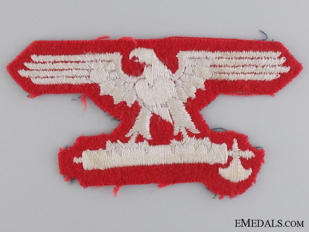 eMedals-An Italian SS EM/NCO's Sleeve Eagle