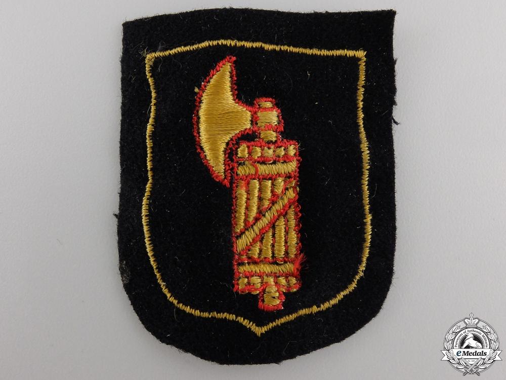 eMedals-An Italian SS Volunteer Sleeve Shield