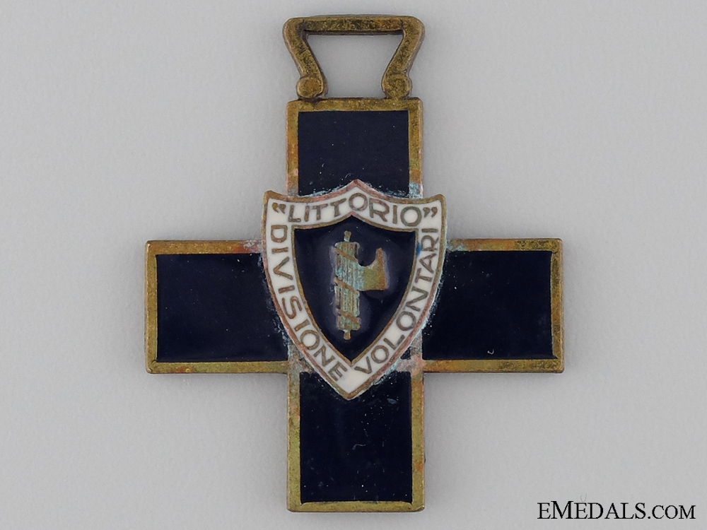 eMedals-An Italian Volunteers Littorio Division Commemorative Cross