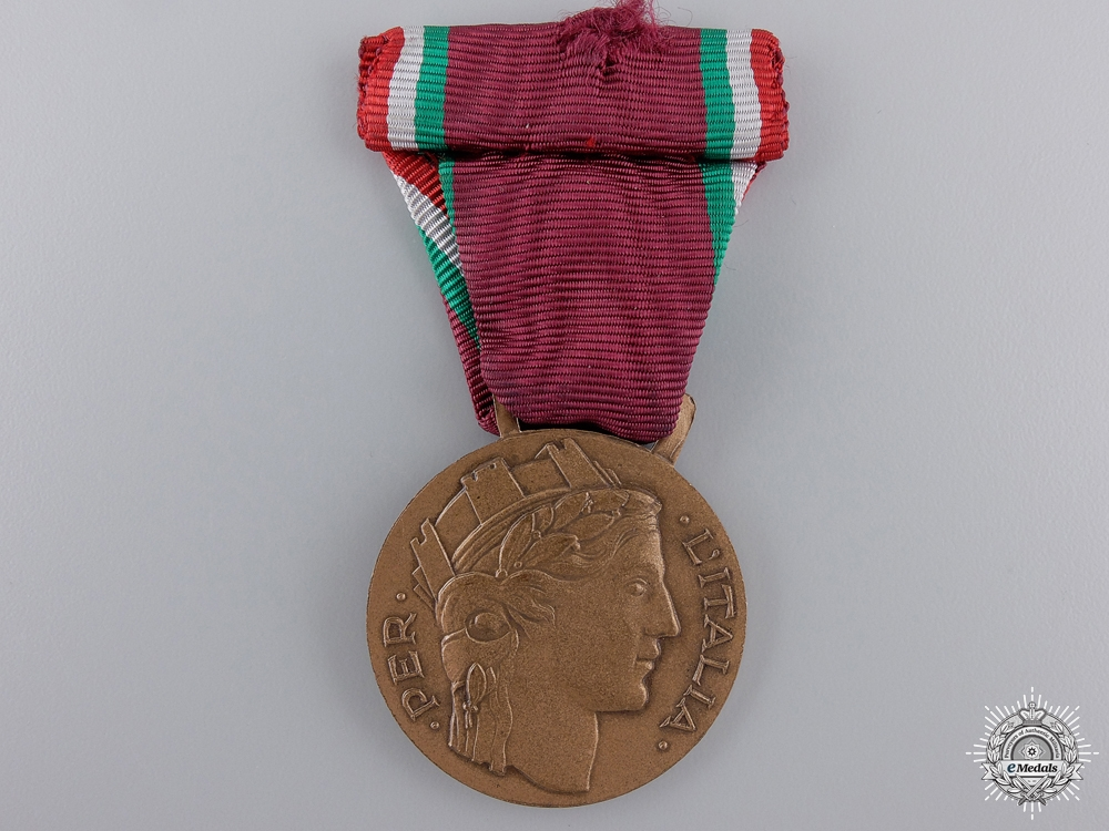 eMedals-An Italian Volunteers' Medal for the Wounded