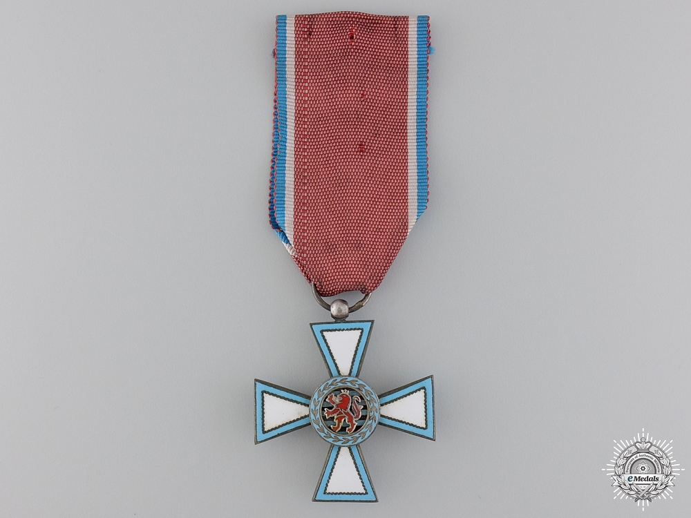 eMedals-An Luxembourg Order of Merit; Knight's Badge