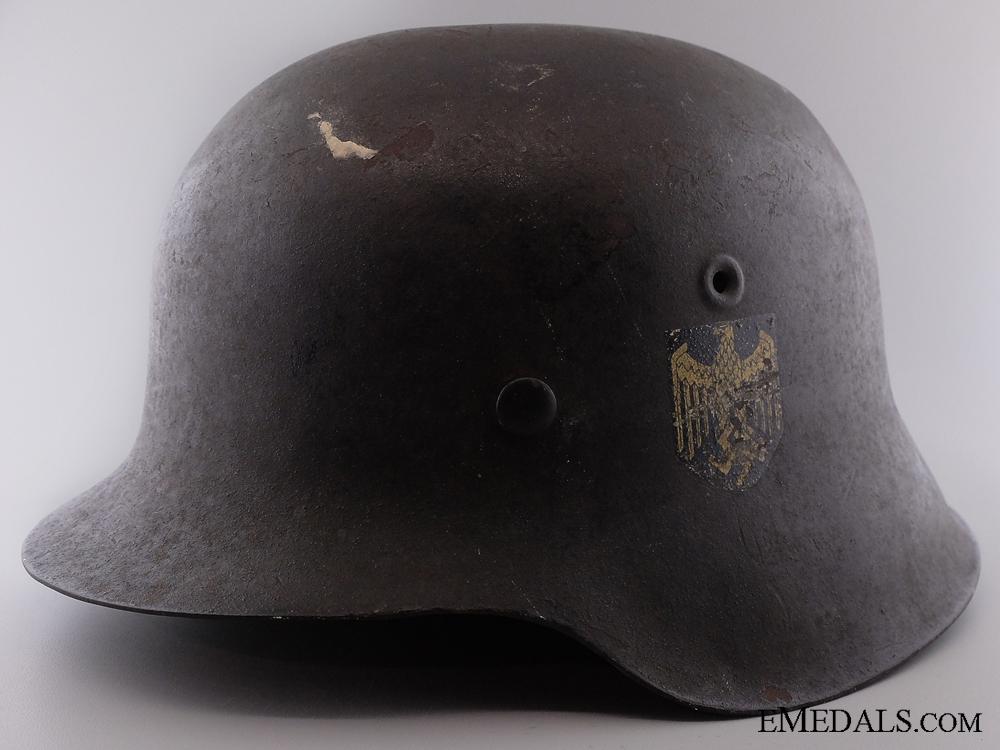eMedals-An M42 Kreigsmarine Helmet  Consignment 4