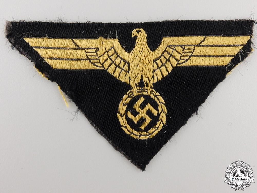 eMedals-An M44 Pattern Deutche Reichsbahn Sleeve Eagle