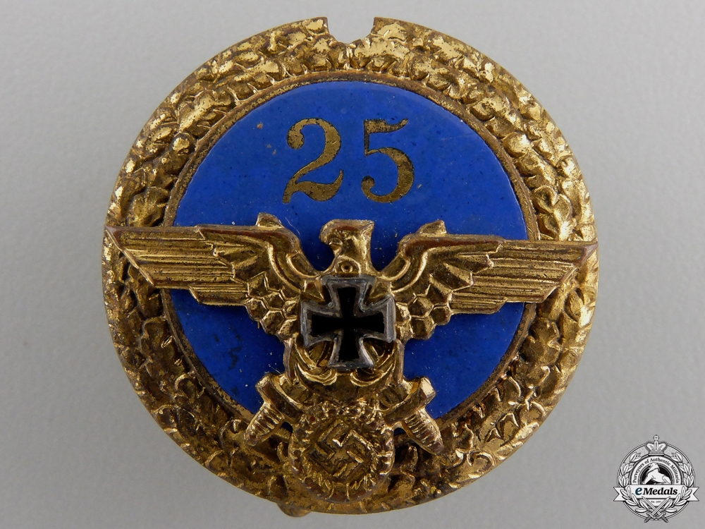 eMedals-An NS-RKB Veteran Forty Year Membership Badge