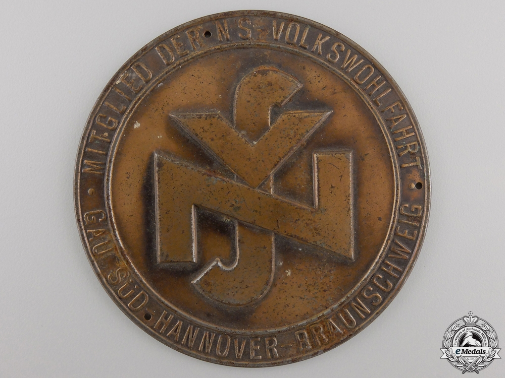 eMedals-An NS Stamped Plaque