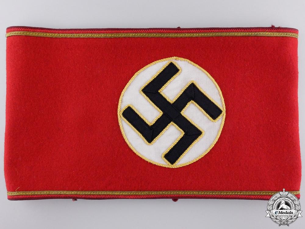 eMedals-An NSDAP Armband for Gau Level Leiter einer Hilfsstelle