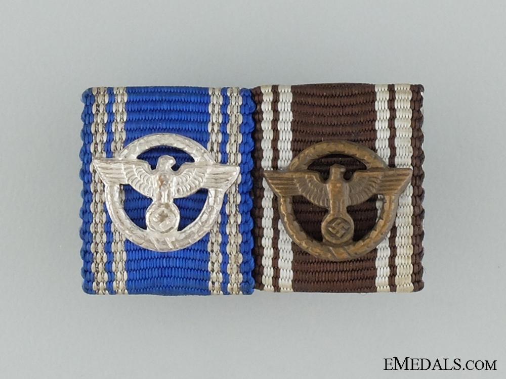 eMedals-An NSDAP Long Service Awards Ribbon Bar