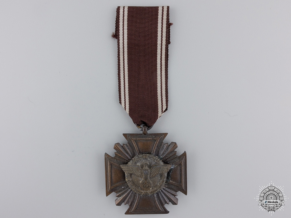 eMedals-An NSDAP Long Service Award; Ten Years Service