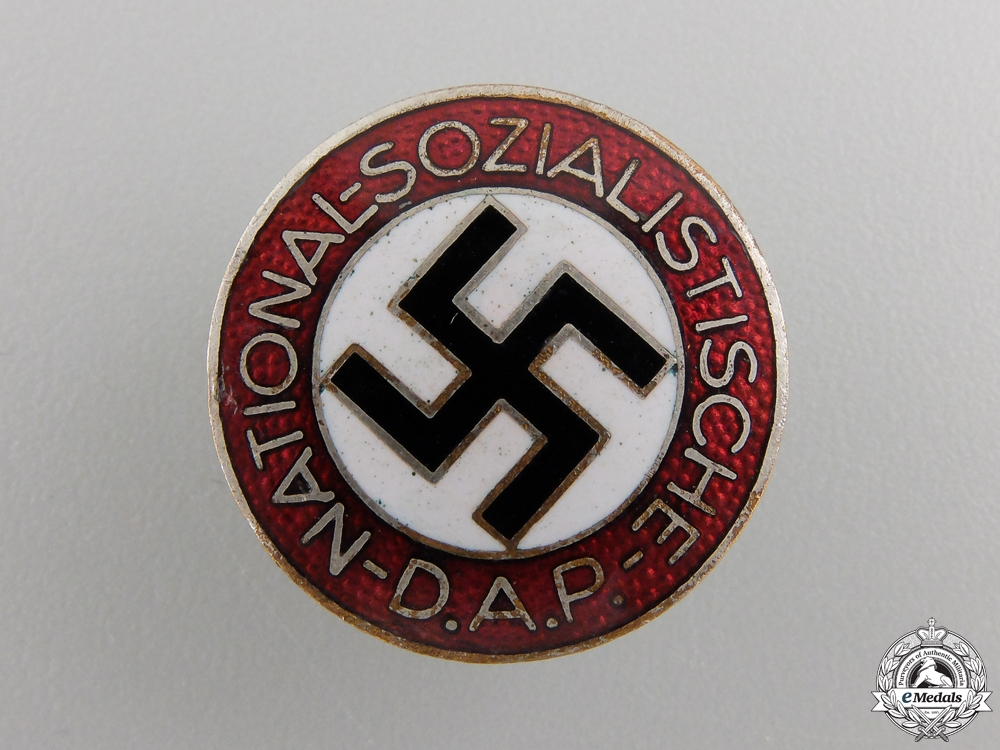 eMedals-An NSDAP Membership Badge by Werner Redo