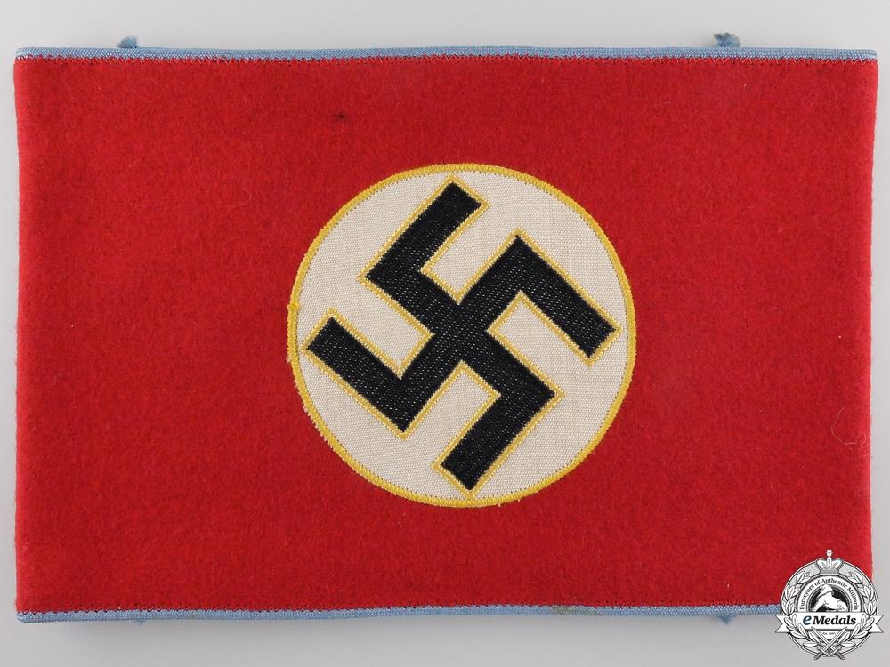 eMedals-An NSDAP Ortsgruppe Level Mitarbeiter Armband