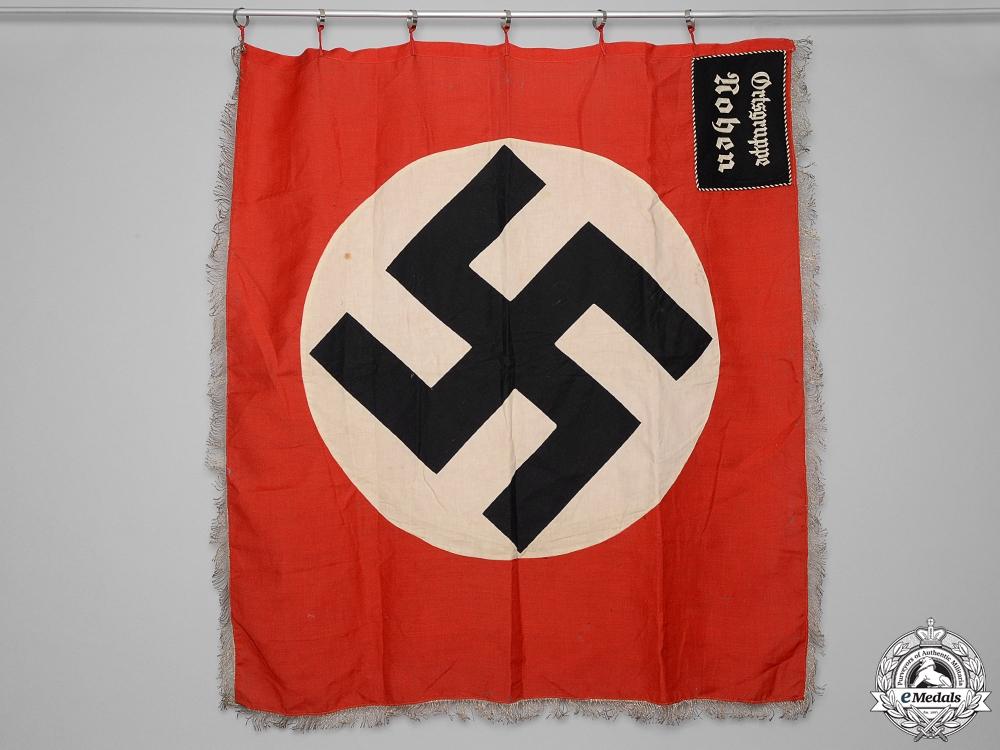 eMedals-An NSDAP Ortsgruppe Noben Garrison Standard