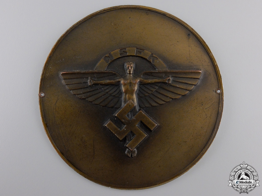 eMedals-An NSFK Plate/Award