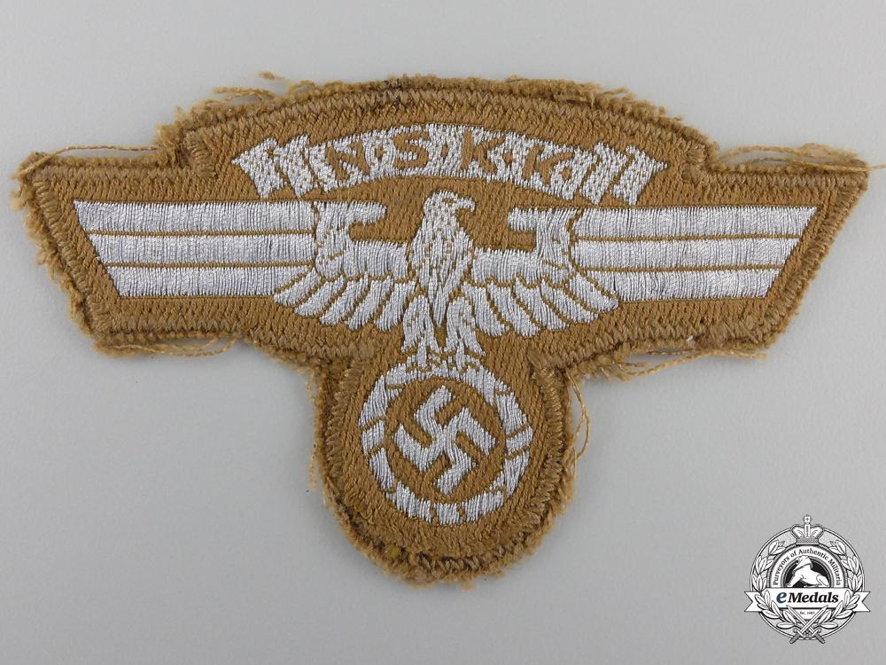 eMedals-An NSKK Sleeve Eagle