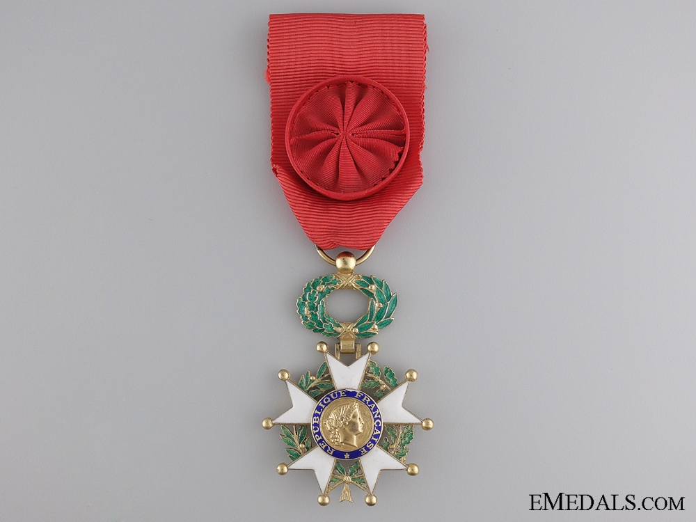 eMedals-An Officer's Legion D'Honneur; Fifth Republic