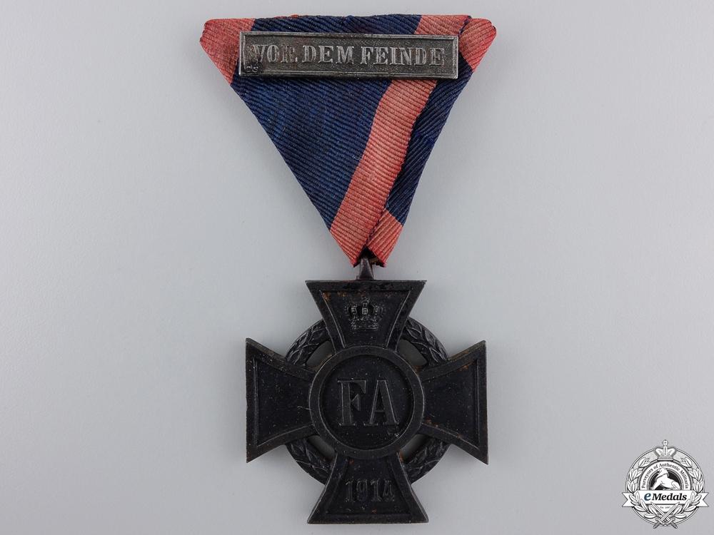 eMedals-An Oldenburg Friedrich August Cross 2nd Class with Bar