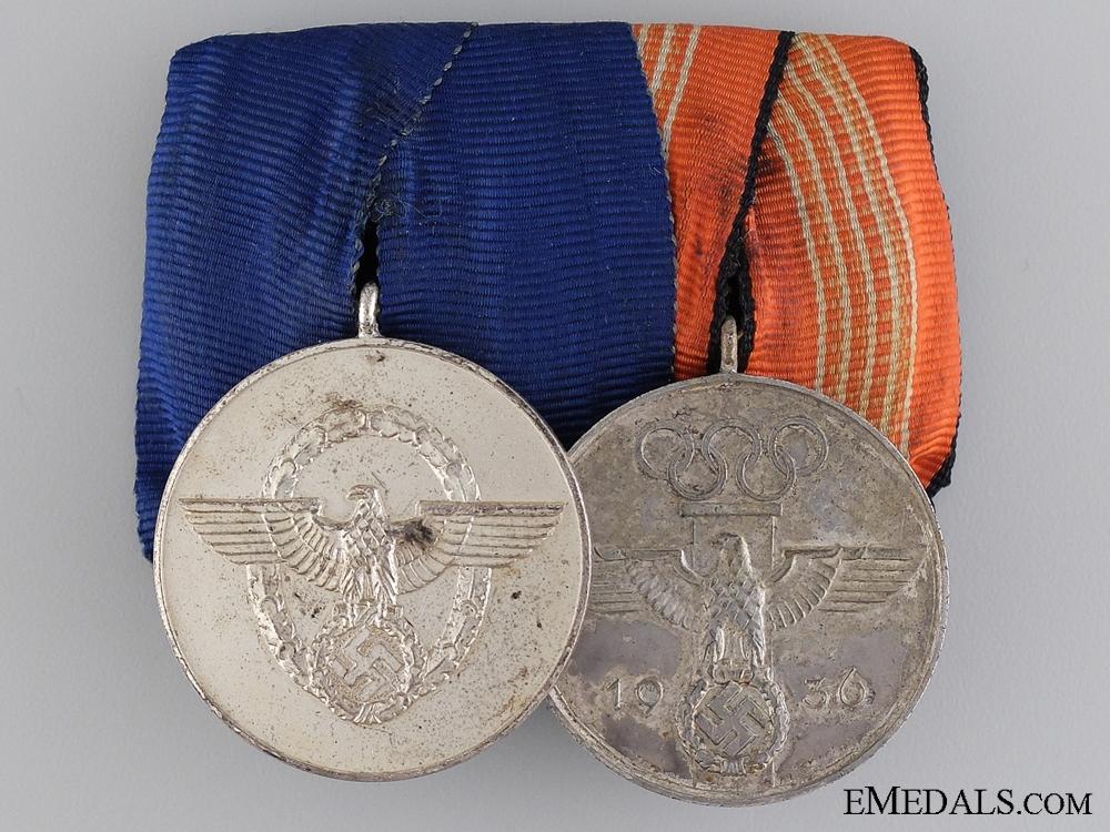 eMedals-An Olympic Third Reich Period Medal Bar