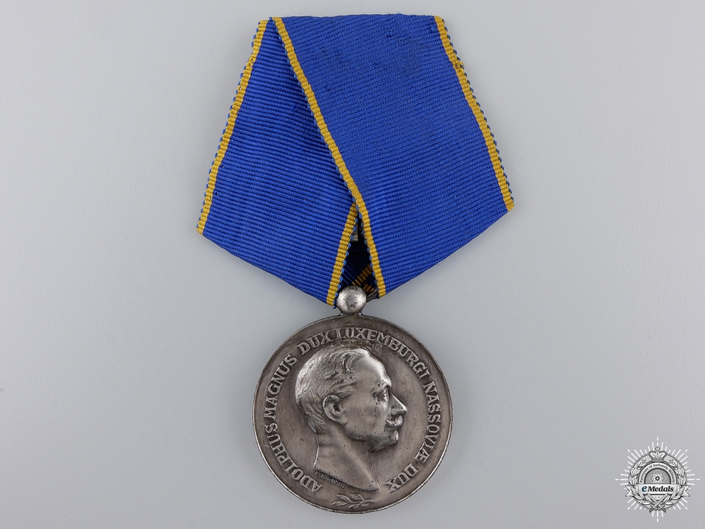 eMedals-Luxembourg. An Order of Adolphe of Nassau, Merit Medal, c.1922