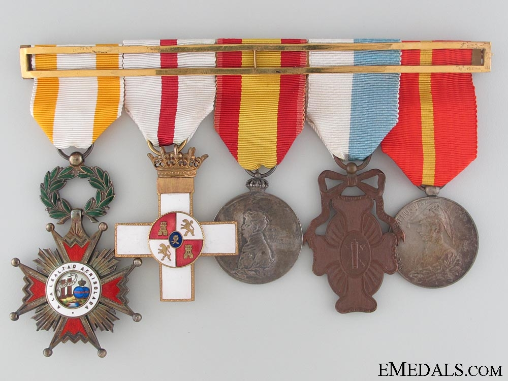 eMedals-An Order of Isabella the Catholic Medal Bar