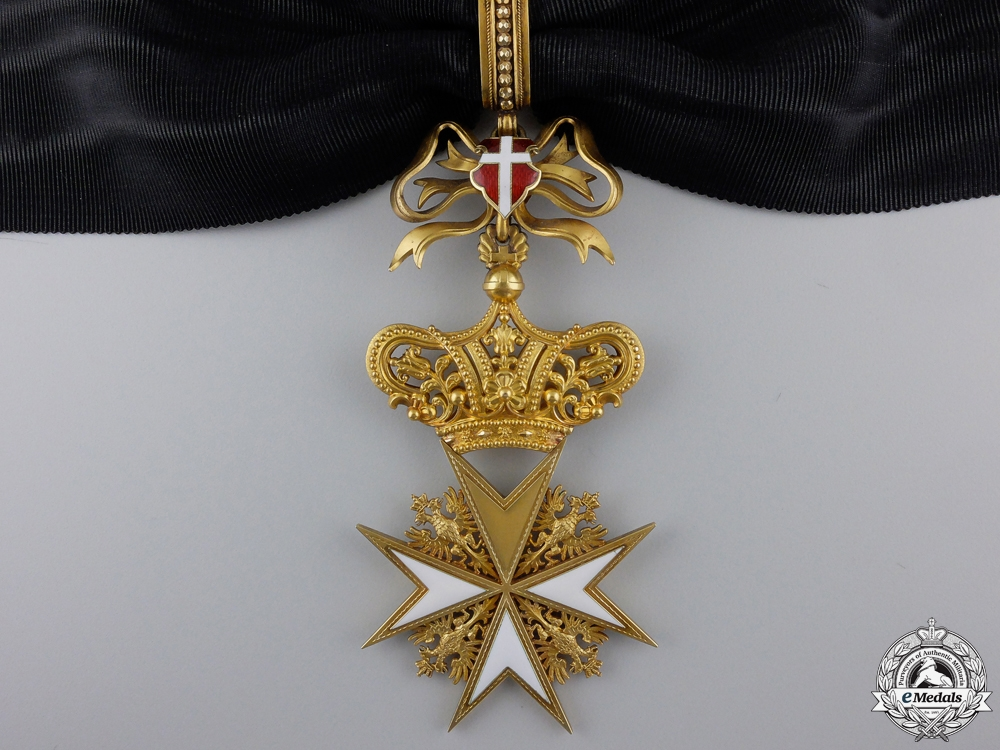 eMedals-An Order of Knights of Malta; Donat Cross 1st Class in Gold