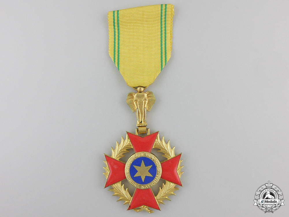eMedals-An Order of National Merit of Chad; Knight