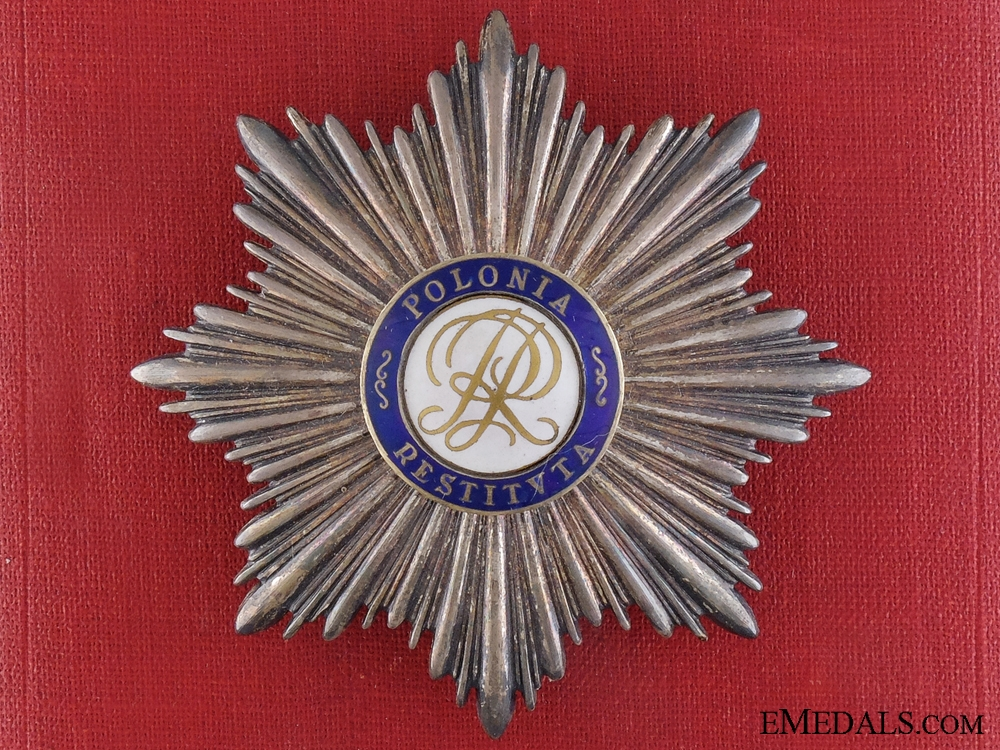 eMedals-An Order of Polonia Restituta; Breast Star