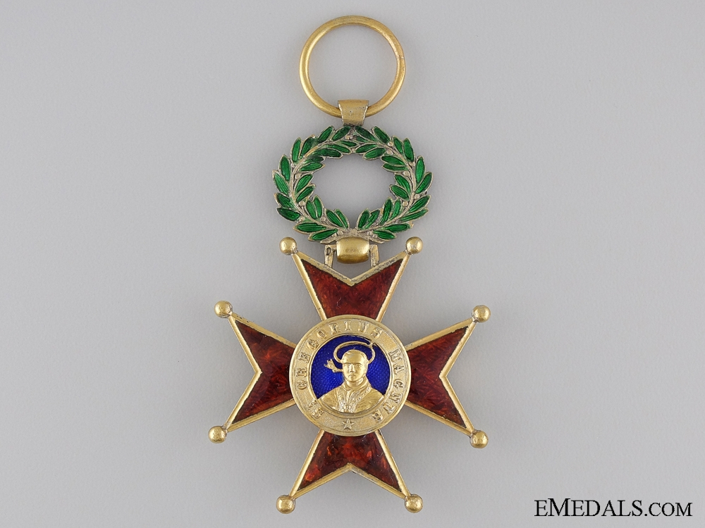 eMedals-An Order of St. Gregory; Officer's Cross