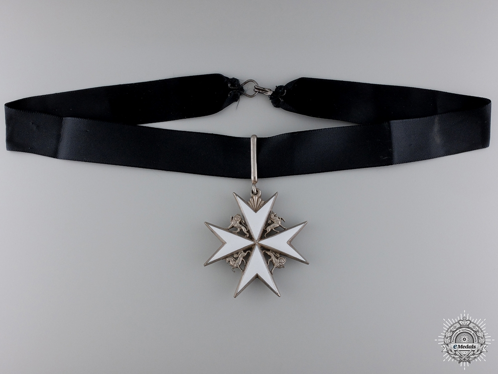 eMedals-An Order of St. John; Commander's Neck Badge
