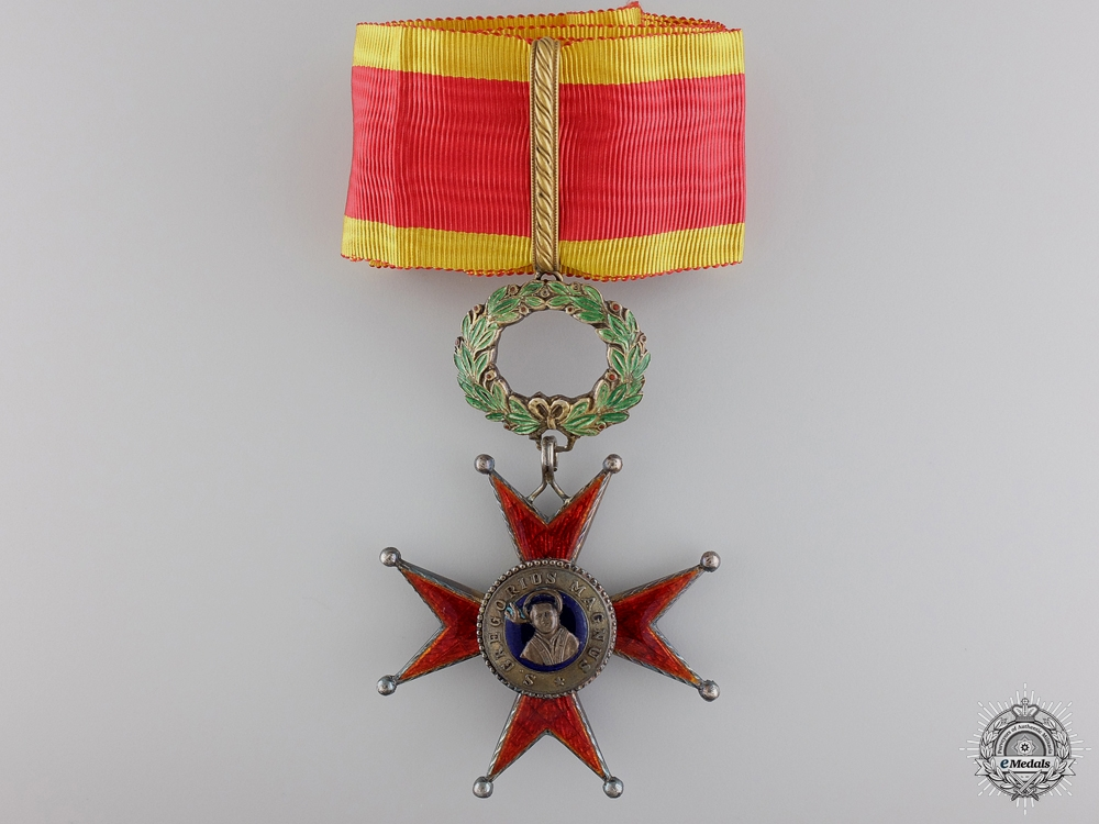 eMedals-An Order of St. Gregory the Great; Commander's Cross c.1930