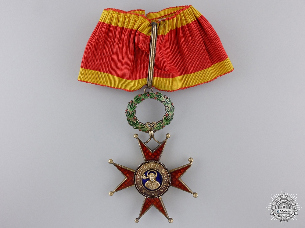 eMedals-An Order of St. Gregory the Great; Commander's Cross