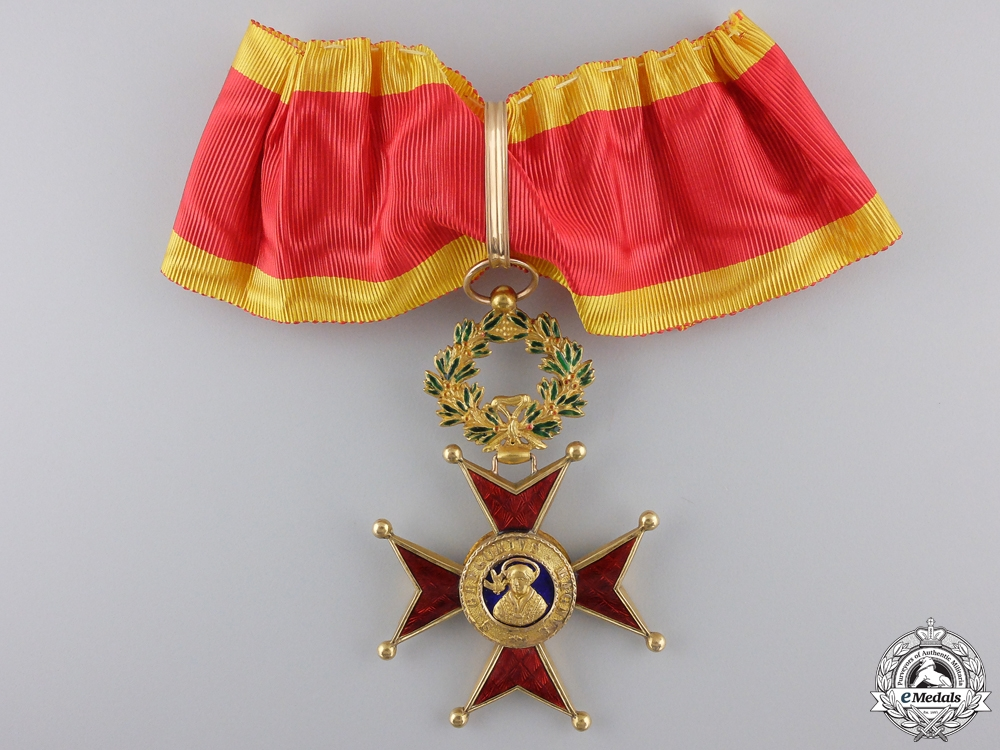 eMedals-An Order of St.Gregory in Gold; Commander's Cross c.1900