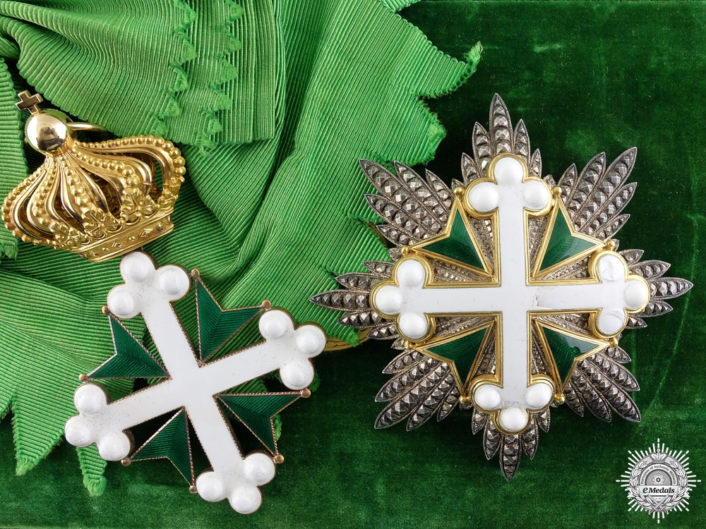 eMedals-An Order of St.Maurice & Lazarus; Grand Cross c.1890