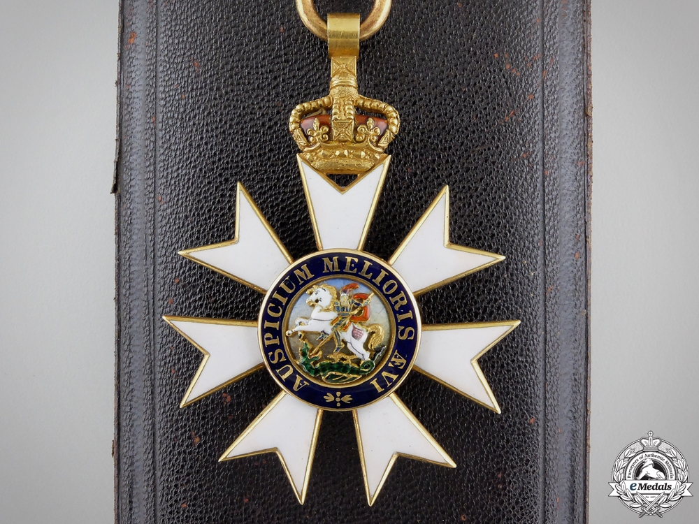 eMedals-An Order of St.Michael & St. George (C.M.G.); Companion in Gold