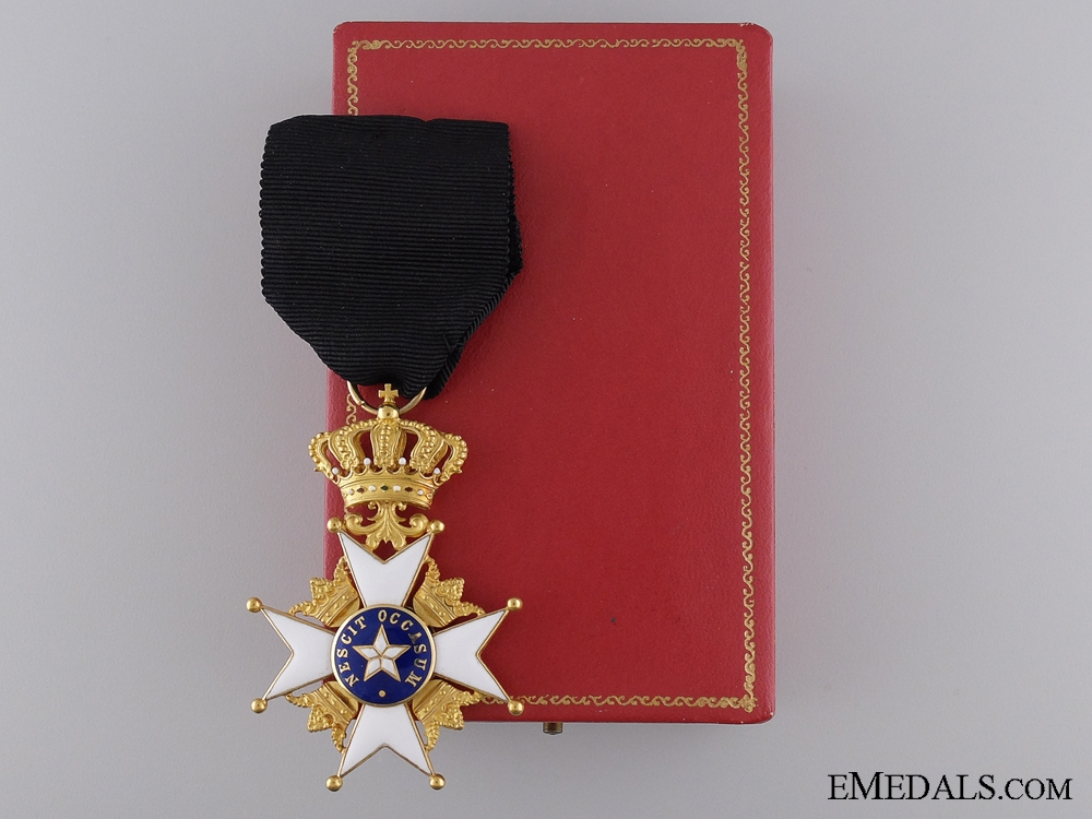 eMedals-An Order of the North Star in Gold; First Class Knight's Cross
