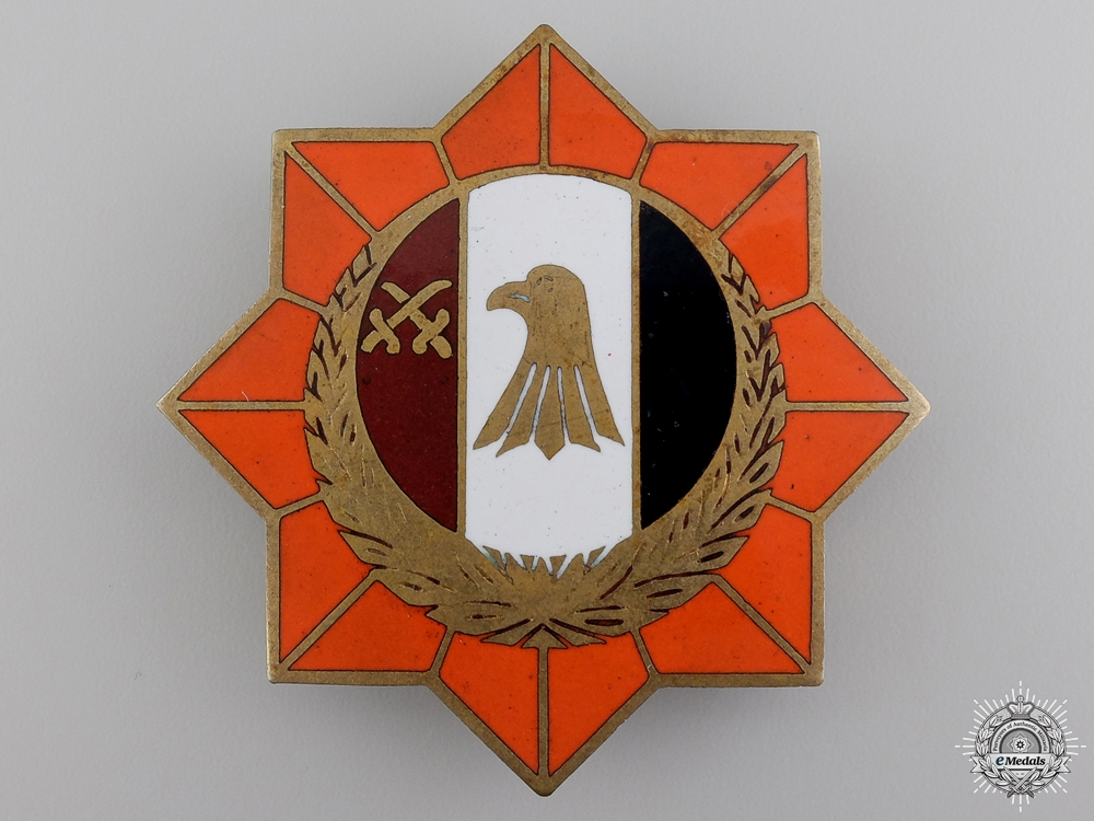 eMedals-An Order of the Military Star of Lybia; Breast Star