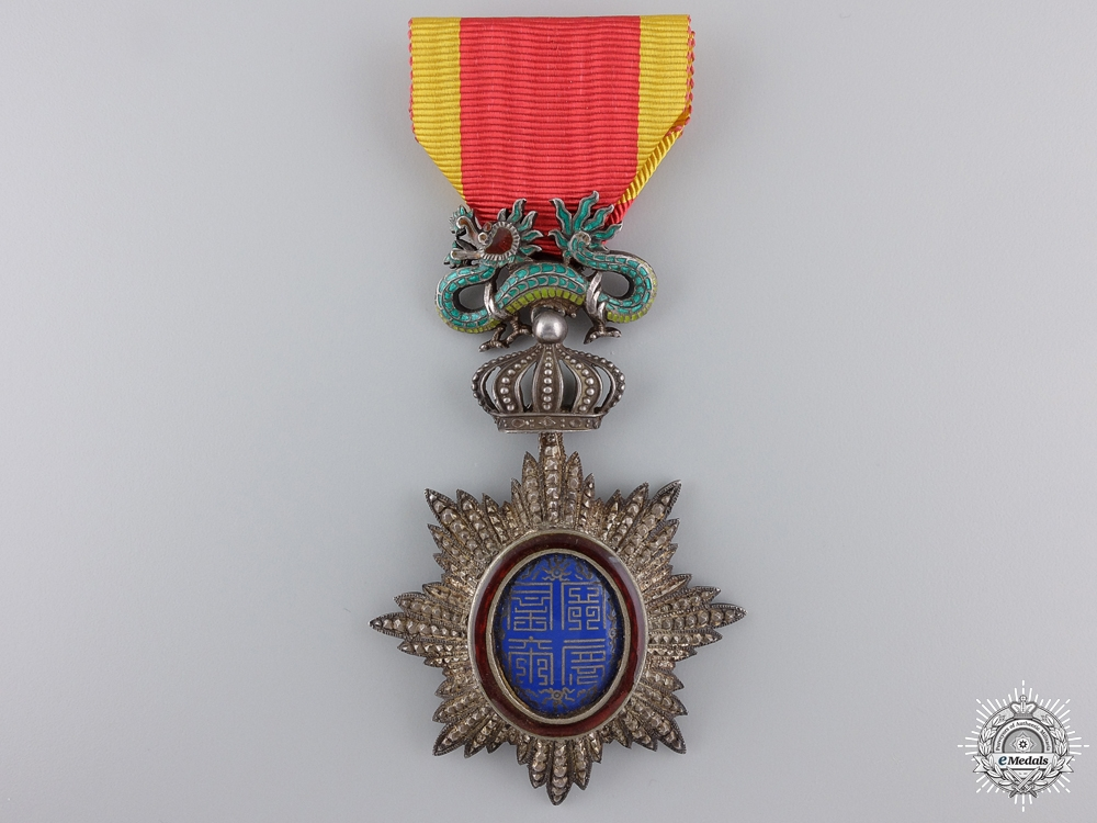 eMedals-An Order of the Dragon of Annan; Knight's Breast Badge